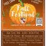 Fall Festival Saturday October 9th